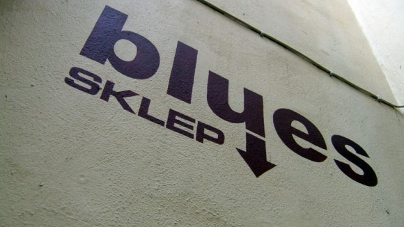 Blues Sklep, music club, logo