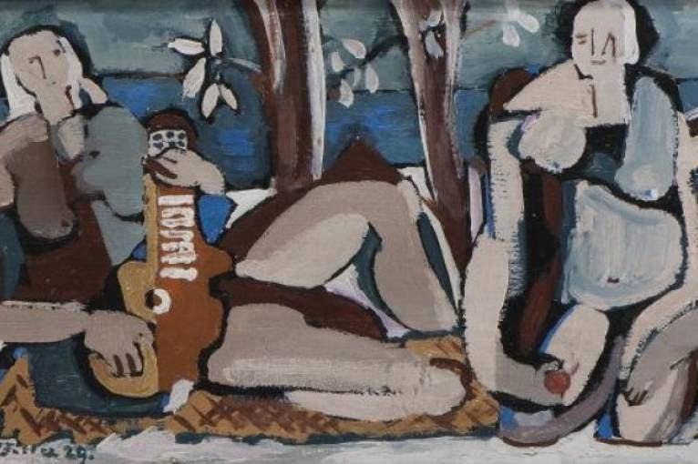 Emil Filla (1882–1953) ze sbírek GHMP
