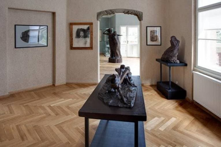 František Bílek's Studio
