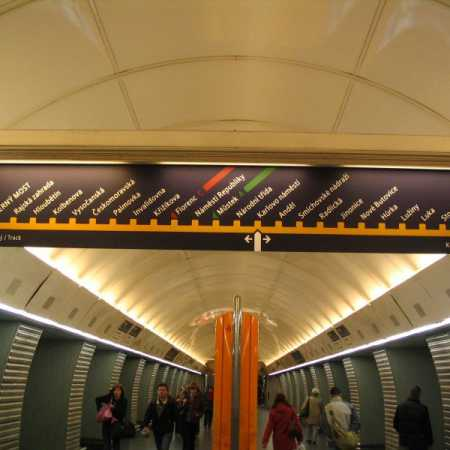 Vagóny metra na trase B