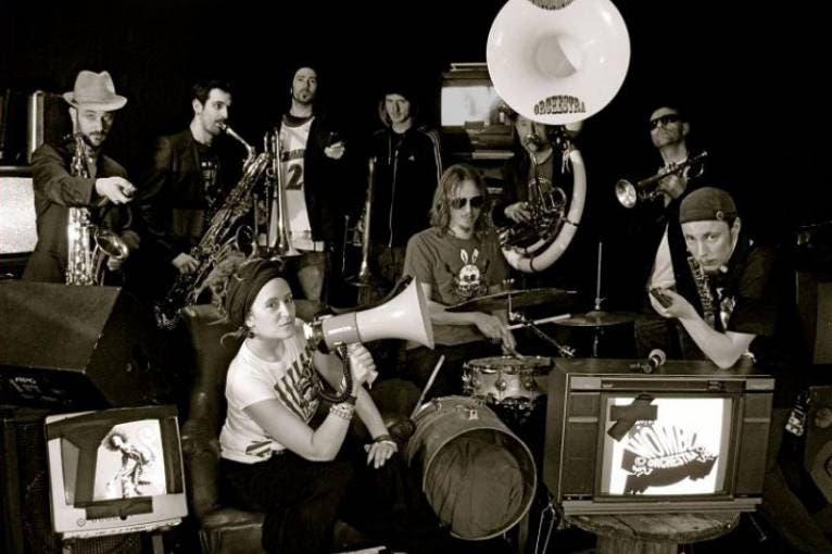 Brass Madness: Wombo Orchestra + DJ Don't Panic & Tom Levecchia (live) + Gruzo