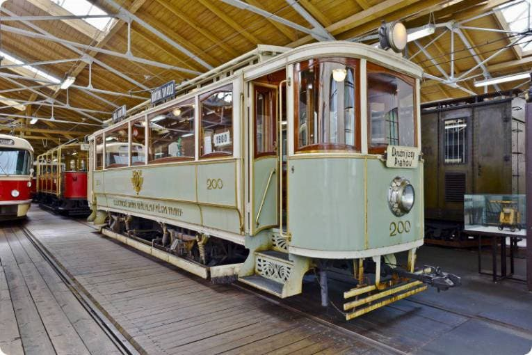 The History of Public Transport in Prague