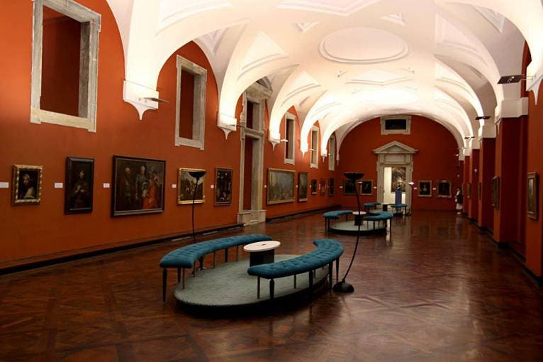 The Picture Gallery at Prague Castle