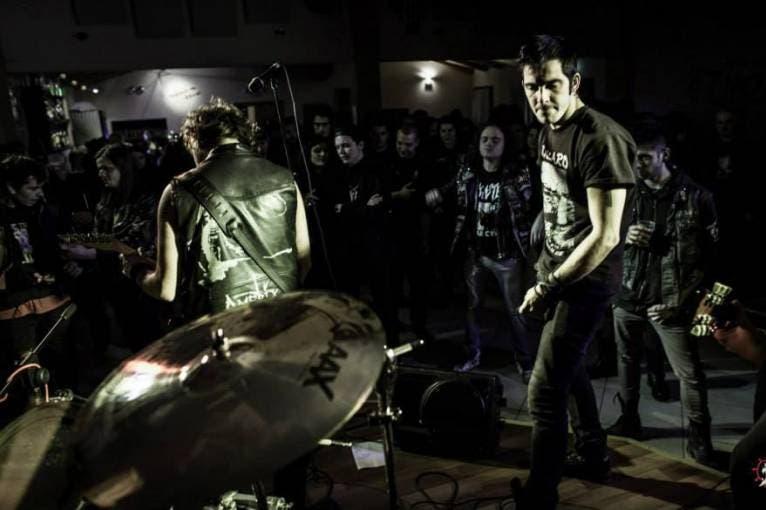 Eternal Noise Misery Warm Up: Kontatto + Mörkhimmel + Slavery