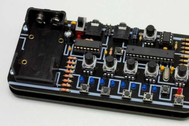 Lunchbeat – 1bit Groovebox Workshop