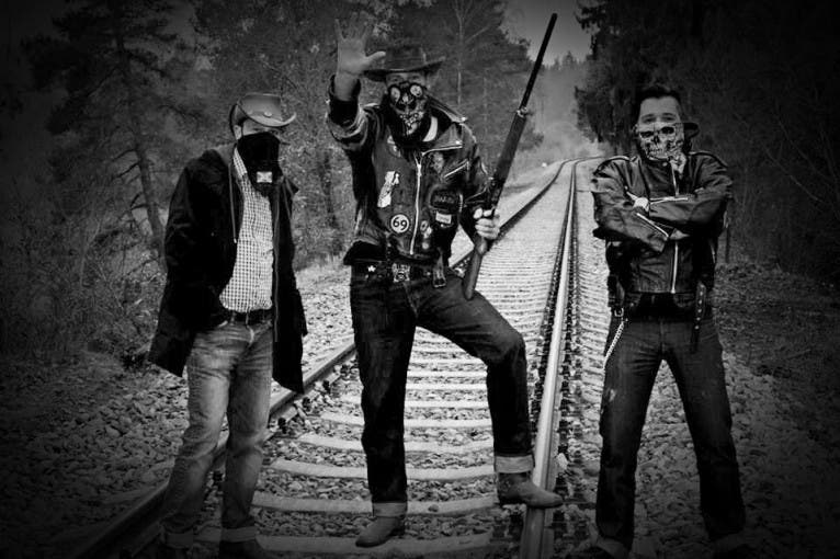 The Train Robbers (křest alba) + Gauneři