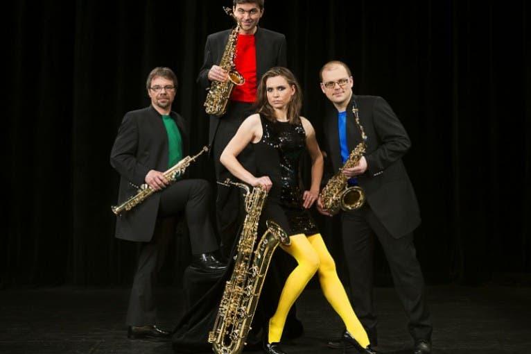Bohemia Saxophone Quartet (album release)