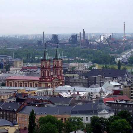 Ostrava – verschiedene Orte