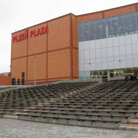 Amfiteátr OC Plzeň Plaza