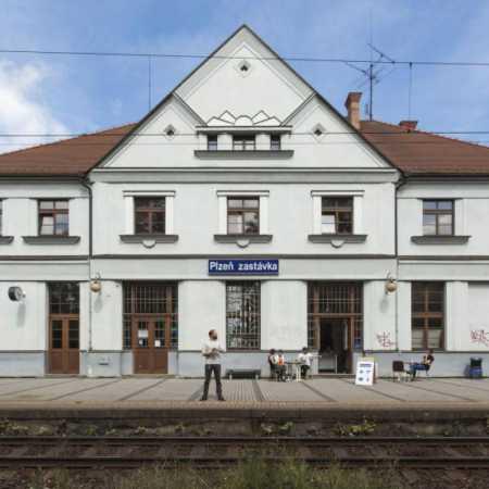 Železniční stanice Plzeň Zastávka