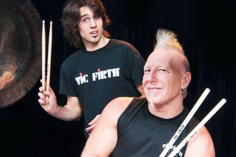 Drum show: Mike Terrana + Dalibor Mráz