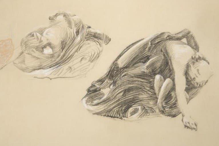 František Bílek – Early Sketches