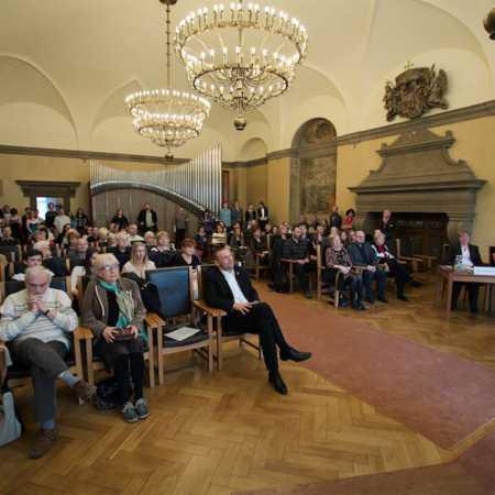 Obřadní síň plzeňské radnice