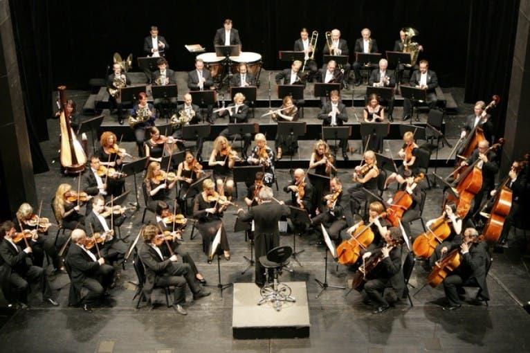 """Karlovarský symfonický orchestr A. Dvořák - Symfonie č.9 e-moll """"Z Nového světa"""" - Smetanova síň"""