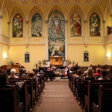 Kostel Českobratrské církve evangelické v Praze na Vinohradech