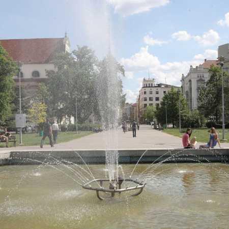 Moravské náměstí – park