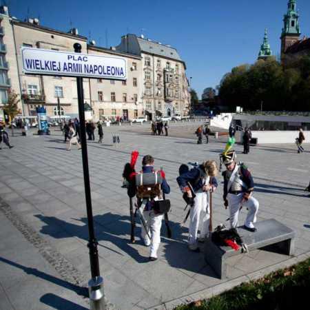 Plac Wielkiej Armii Napoleona w Krakowie