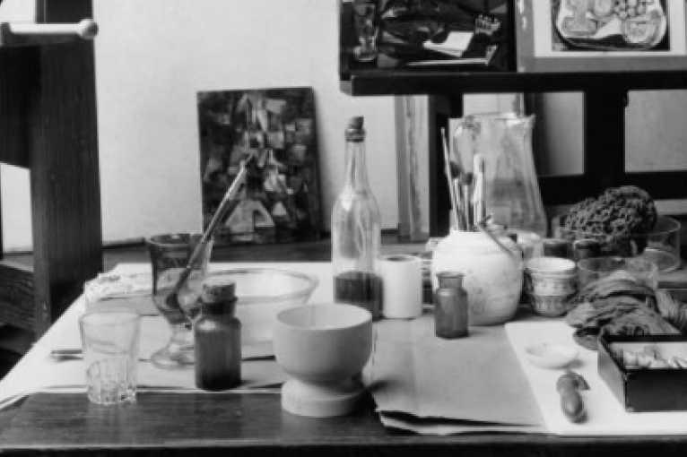 Josef Sudek: V ateliéru
