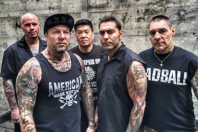 Agnostic Front + support: Me Against All