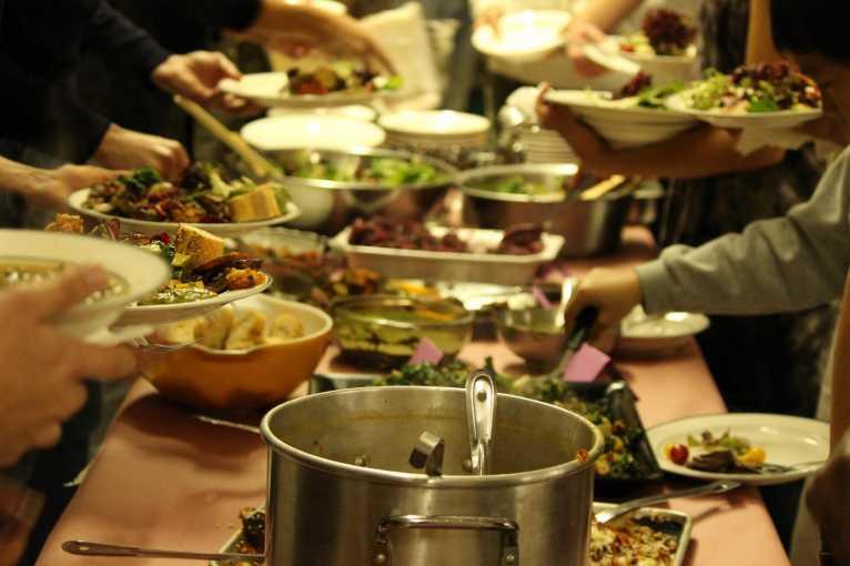 Antivalentýnská večeře