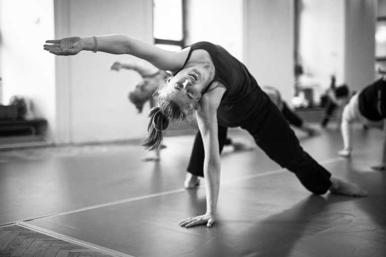 Taneční workshop contemporary dance