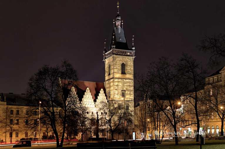 Historie Nového Města a Praha panoramatická
