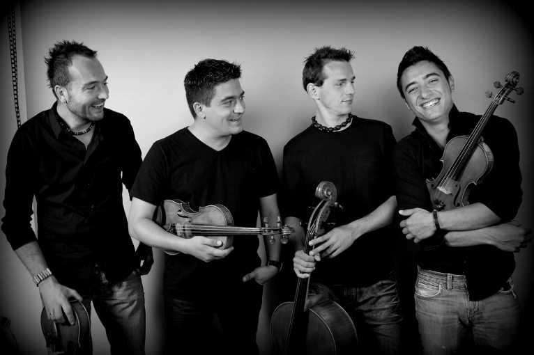MIB Quartet + guests: Oleg Sokolov + Martina Pártlová