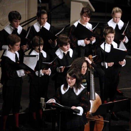 Les Pages & les Chantres du Centre de Musique Baroque de Versailles