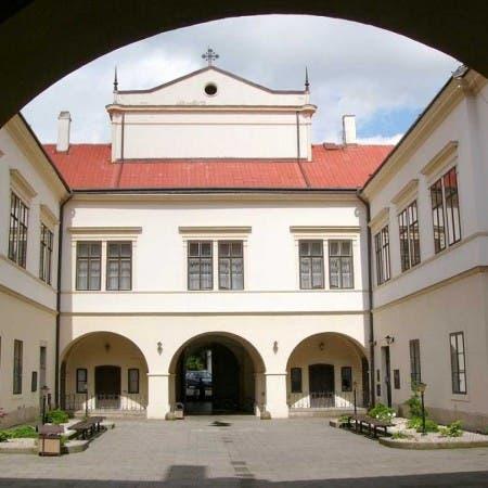 Nádvoří zámku Choceň