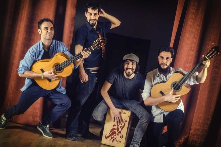 Rumbalgia + Los Culos + Xavier Andrieu
