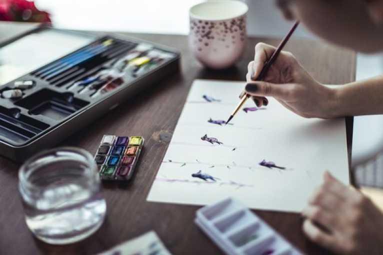 Veronika Vlková: Kouzlo královské techniky akvarelu