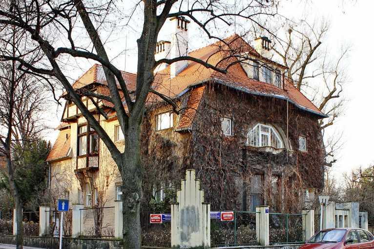 Slavné vily v Bubenči