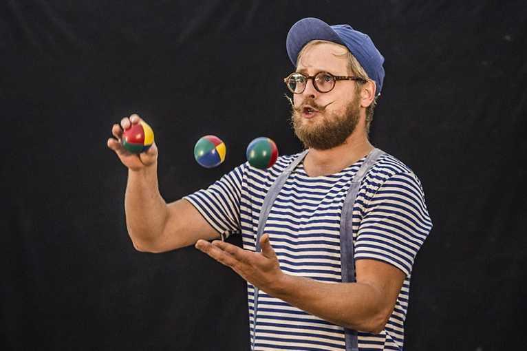 Pan Václav a kouzelný pytel + cirkusový workshop