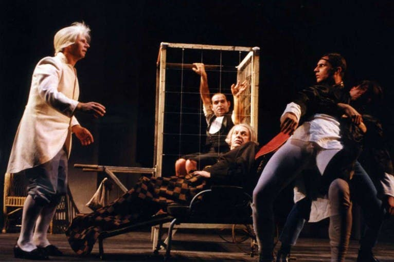 Opowieść teatralna T[pl- Immanuel Kant