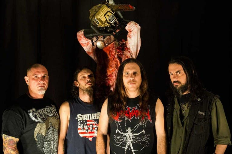 Exhumed + Rotten Sound + Implore