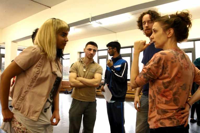 Lednový workshop současného tance s Věrou Ondrašíkovou