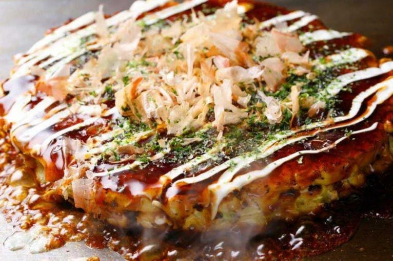 Okonomiyaki Day in Momoichi