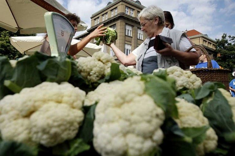 Farmářské trhy na Kulaťáku