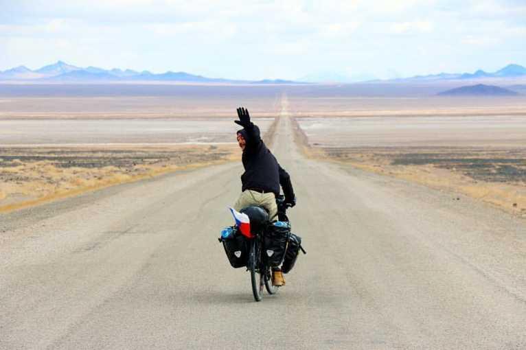 Matěj Balga: Na kole a v kajaku kolem světa