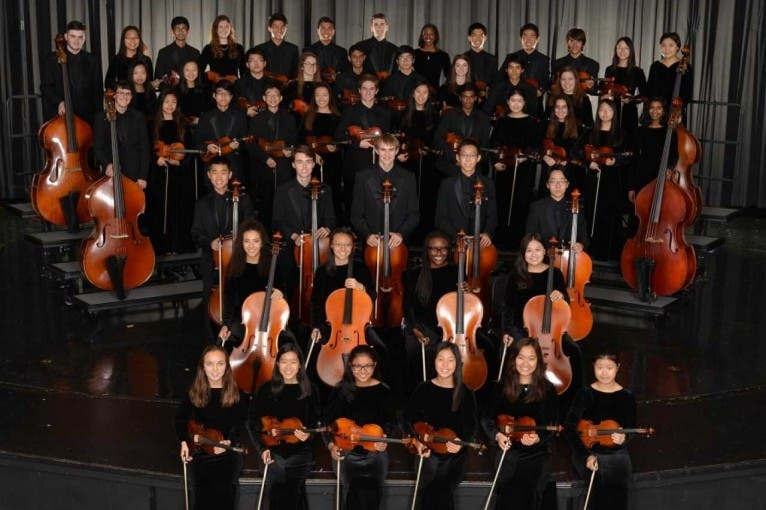 Concert of the Student String Orchestra Walton
