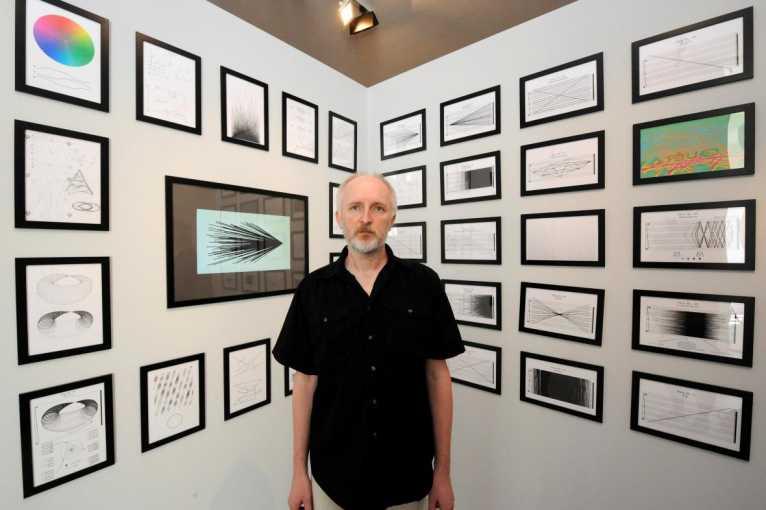 Milan Guštar: Zvuk – hluk – hudba – obraz / Michal Cáb: Spektrální negativ
