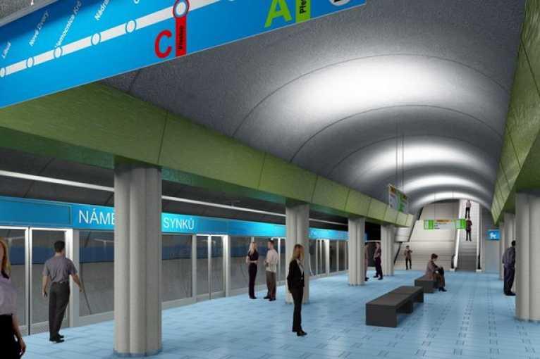 Komentovaná prohlídka výstavy Praha zítra – metro D