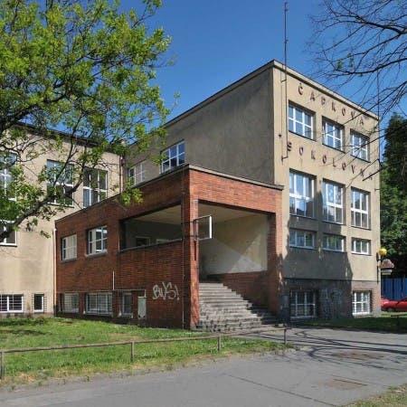 Čapkova sokolovna – T. J. Sokol Moravská Ostrava 1