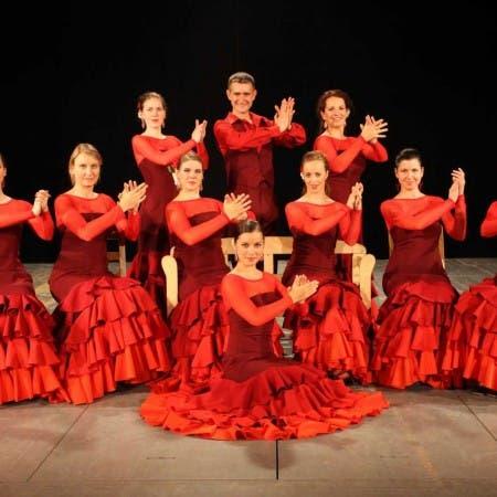 Představení taneční školy Estudio Andaluz