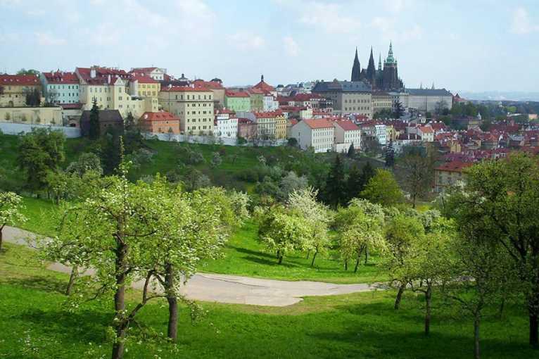 Praha a příroda – pražské sady