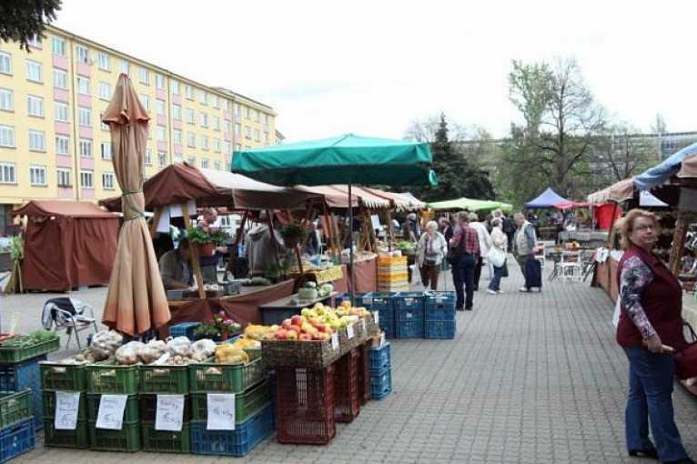 Farmářské trhy Kubánské náměstí