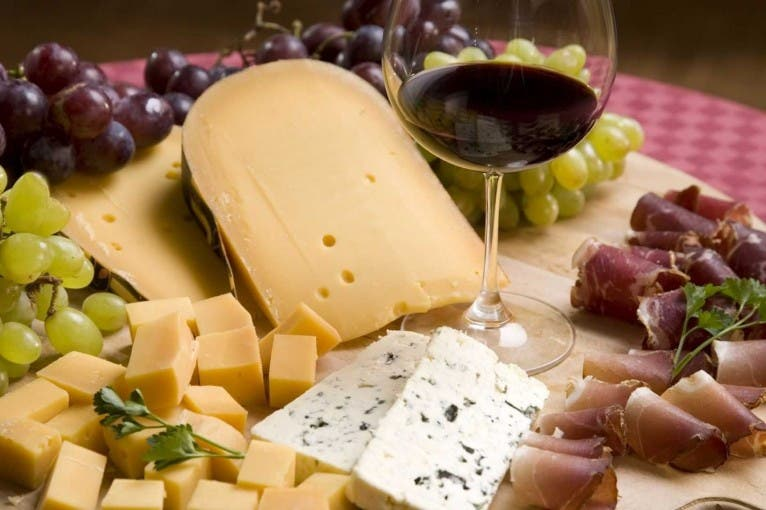 French Wines and Cheeses Tasting