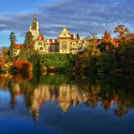 Průhonice Park and Castle