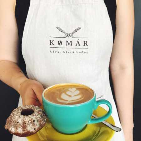 Komár kafe – okýnkový espresso bar