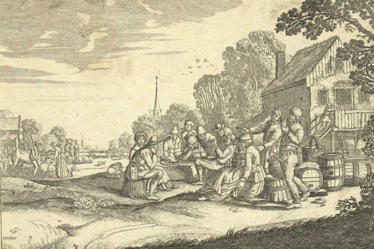 Wenceslaus Hollar Bohemus: The Language of Needle and Burin